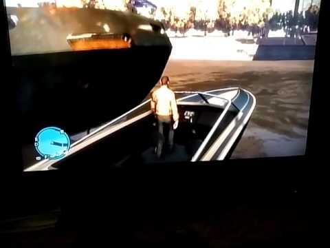 Gta4 boat bote