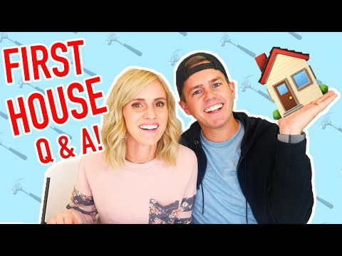 FIRST HOUSE Q AND A! One Year Later | Ellie And Jared