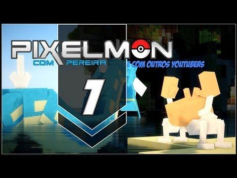 Pixelmon com Youtubers #1