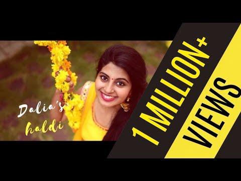 SINGLE SHOT Wedding Song Video - Dalia's Viral Haldi