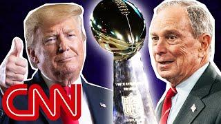 2020 Super Bowl ads: Trump vs. Bloomberg
