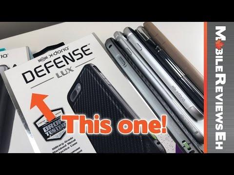 The Best X-Doria iPhone 7 Cases? X-Doria Defense Lux vs. Gear vs Edge vs Shield vs Engage Folio
