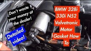 BMW Valvetronic Sensor Faults 2A67 and 2A6B  двигатель N46 2A67