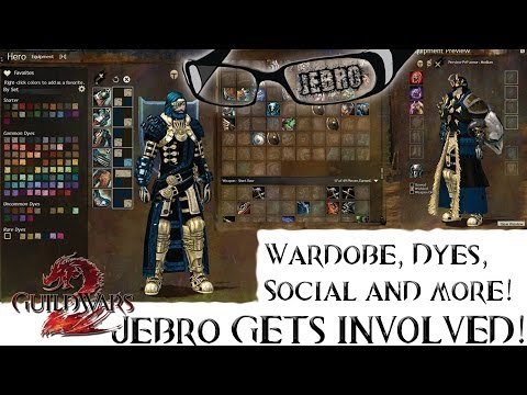 GW2 Feature Patch/Build April - Wadrobe, Dye system Social and more! - Guild Wars 2 - Blog Posts