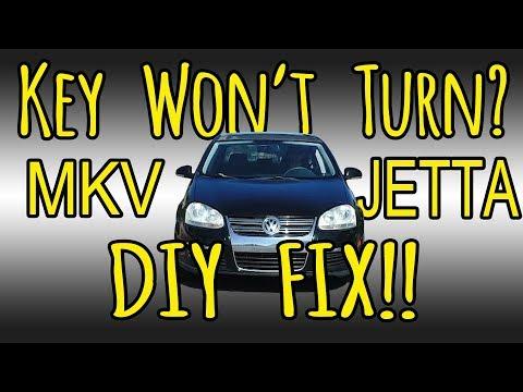 VW MKV Jetta Ignition Cylinder Steering Lock FIX!
