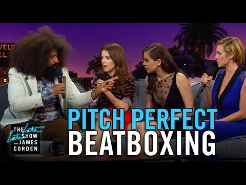 Beatboxing with the Pitch Perfect 2 Cast