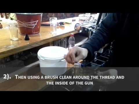 How To Clean A Bar Gun | Empire Drinks & Refrigeration