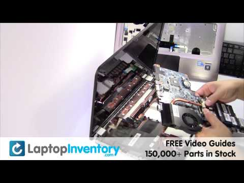 HP DV6-3000 FAN Replacement - Disassemble Take Apart Motherboard Heatsink Pavilion Laptop