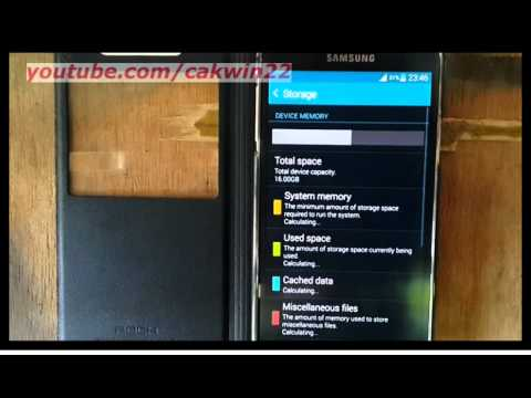 Samsung Galaxy S5 : How to clear cached data for all apps (Android Phone)