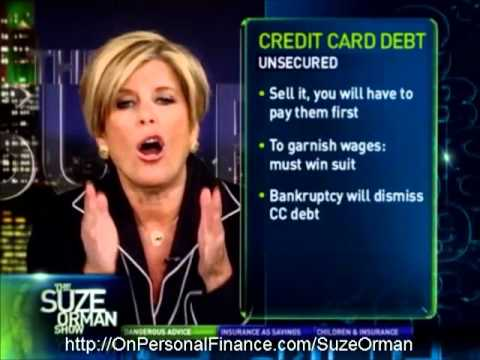 Suze Orman - Using HELOC as Balance Transfer for Your Credit Card is a Very Dangerous Thing to Do
