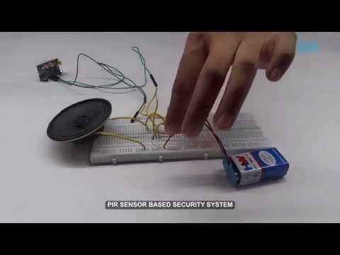 PIR Sensor Based Security System