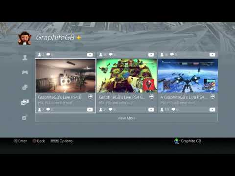 New Dynamic menu update to PSN ID Profile section on PS4....