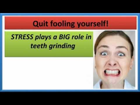 PREVENT TEETH GRINDING AT NIGHT   Stop jaw clenching