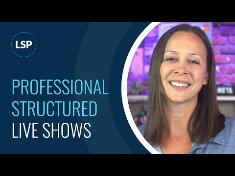 How to have a Professional, structured show... AND relax and have fun!