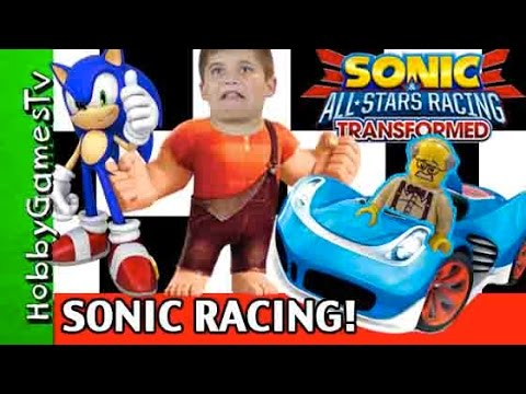 Sonic All Stars Racing Transformed Racing on Wii U Nintendo HobbyGamesTV