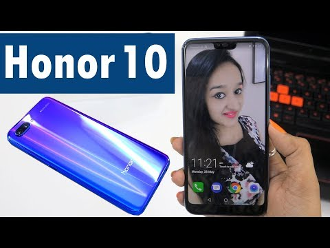 HONOR 10 - (PHANTOM BLUE) Unboxing & Overview - In Hindi (A.I. MAGIC)