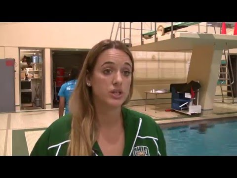 Ohio Women's Swimming & Diving: Get Your Feet Wet with OU Diving