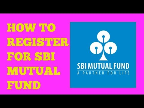 How to register for sbi mutual fund HD