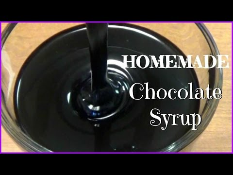 Homemade Chocolate Syrup  * Super EASY* 💜
