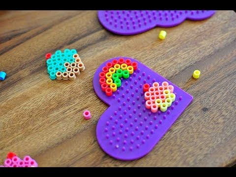 How to melt Perler Beads/ Hama Beads/ Melty Beads