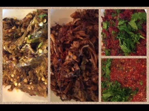 C/w Nana: Lao Tomato, Mushroom & Chili Sauces (ແຈ່ວສາມແບບ == Jeo Sahm Bap)