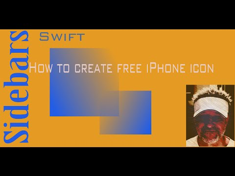 App Icons how to: Swift Sidebars Xcode