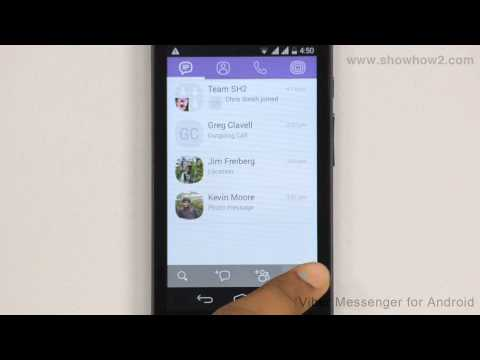 Viber Messenger - How To Email Message History