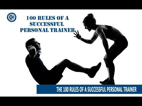 How to Be A Successful Trainer - 100 Rules