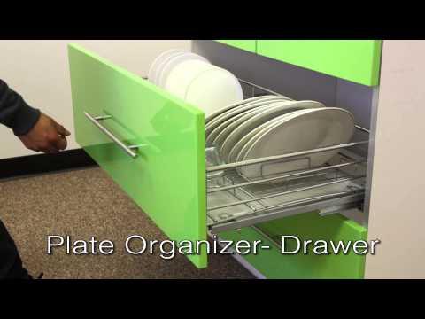 Plate Organizer  Drawer