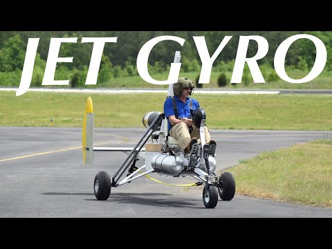JET GYRO project gyrocopter