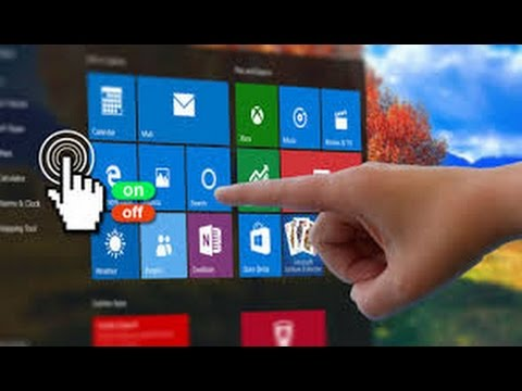 How To Disable and  Enable Touchscreen in windows 10 easy and fast