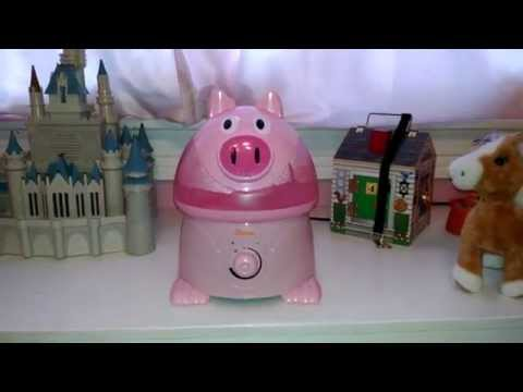 Crane Cool Mist Humidifier - Adorable Pig & Cow