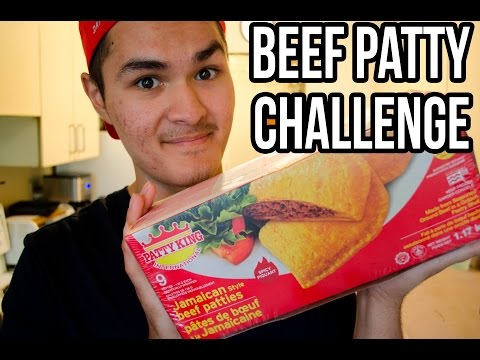 BEEF PATTY CHALLENGE!!!