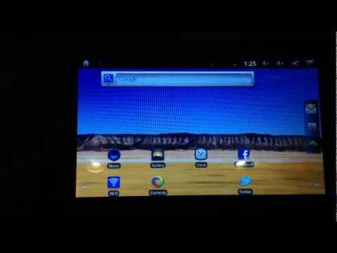 Polaroid PMID701C Android 2.3 7