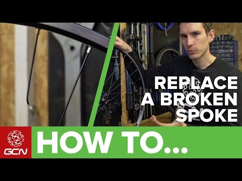 How To Replace A Broken Spoke | Fix Your Road Bike With GCN