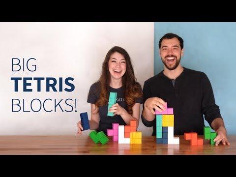 CNC Tetris blocks (feat. Simone Giertz) | How to make