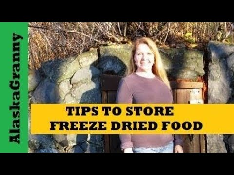 How to Store Freeze Dried Food to Last Longer