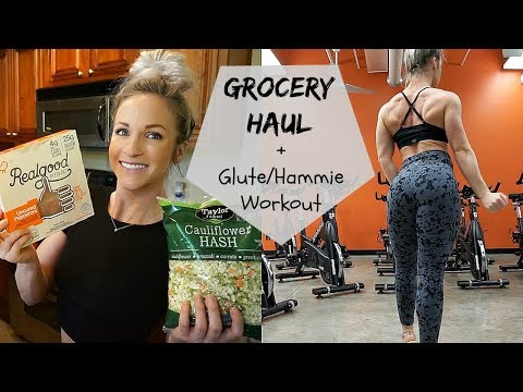 Grocery Haul | Glute Hammie WORKOUT | 9 Weeks Out