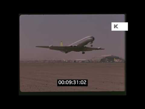 1950s Cairo Airport, Egypt in HD from 35mm | Kinolibrary