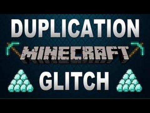 Minecraft duplication glitch PE