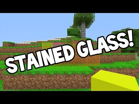 Minecraft (Xbox360/PS3) - TU24 UPDATE! - STAINED GLASS + FEATURE DISCUSSION