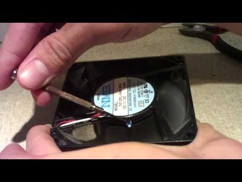 How to Modify a Thermally-Controlled Fan to Run at Max Speed