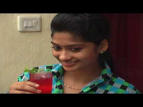 Simple Strawberry juice in telugu