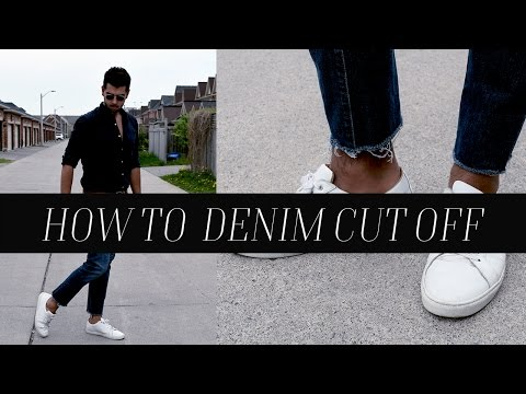 DIY:  How To Fray Hem Denim