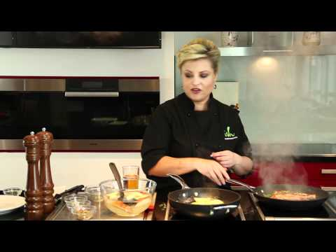 Fruit Bytes with Rozanne Stevens - Pork Chops with carmelised apples