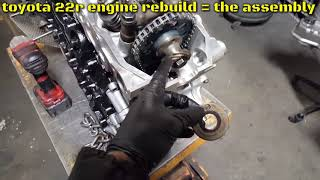 1987 4Runner 22RE Timing Chain Replacement Part 3 - PakVim