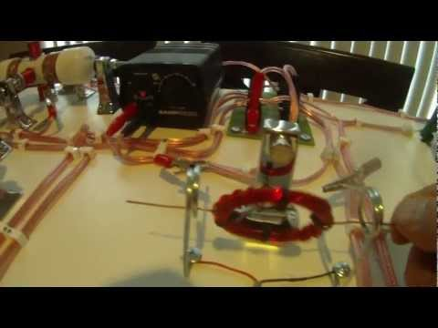 Homemade DC Electric Motor Science Project III