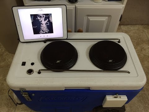 Making A Cooler Radio - Overview and Build With iPad Air