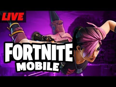 Fortnite Mobile Battle Royale Beta Gameplay Live
