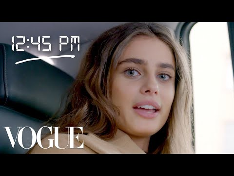 Xxx Mp4 How Taylor Hill Gets Runway Ready Diary Of A Model Vogue 3gp Sex